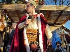 110. Orszak Trzech Króli oraz Jasełka 06.01.2018