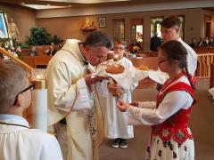 143. 21.10.2018 Wspólna modlitwa Małych Śwarnych z Polonią w Chicago