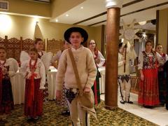 157. 25.12.2018 jasełka w hotelu w Czorsztynie