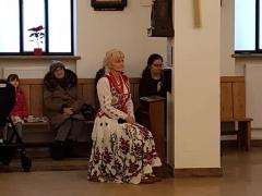 162. 13.01.2019 kolęda w kościele pod wezwaniem Bożego Miłosierdzia i św. Siostry Faustyny w Warszawie